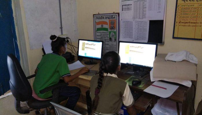 Bebras India Challenge @Adpodara School in Rural Gujarat